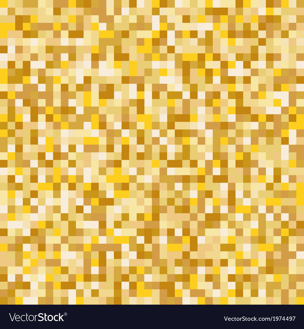 Gold mosaic abstract background vector | Price: 1 Credit (USD $1)