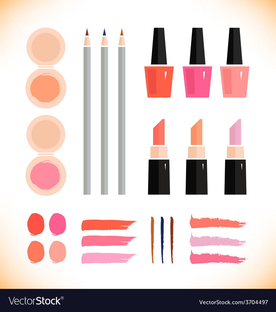 Make up icons vector | Price: 1 Credit (USD $1)