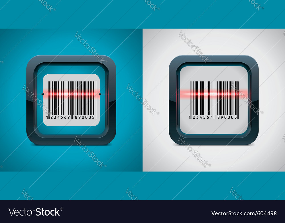 Bar code scanner vector | Price: 3 Credit (USD $3)