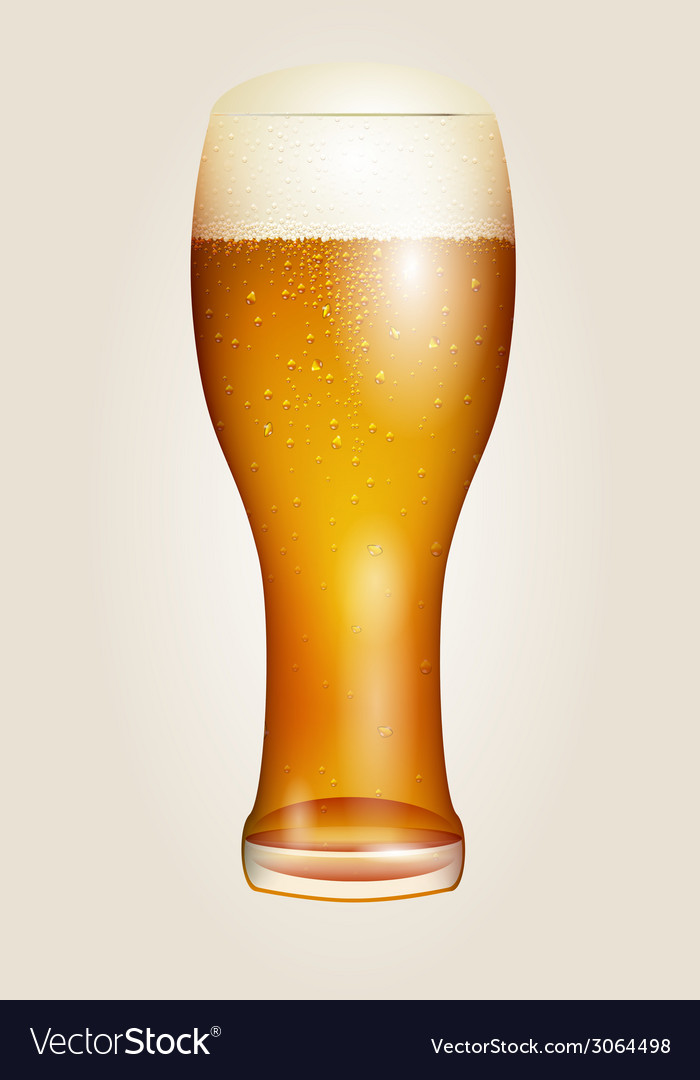 Glass of beer vector   Price: 1 Credit (USD $1)