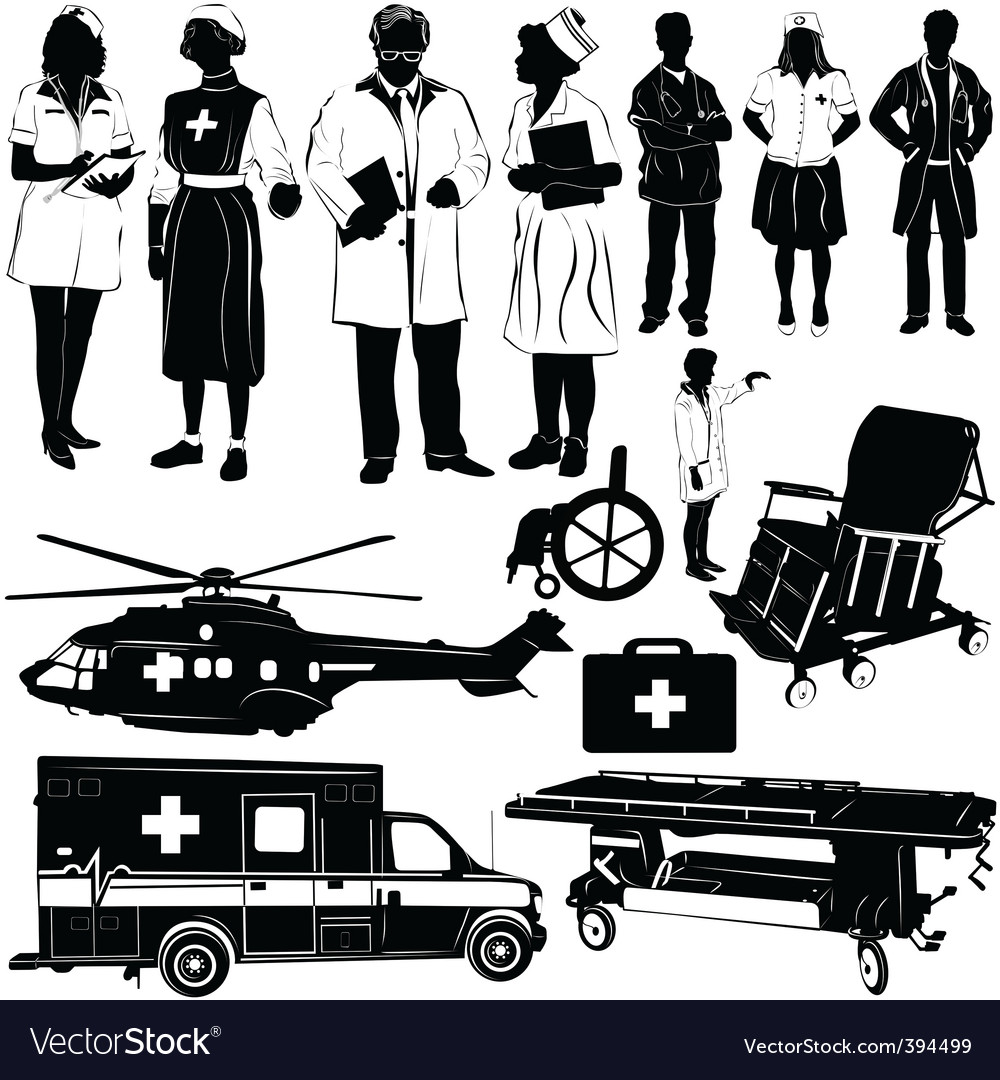 Medical equipment vector | Price: 1 Credit (USD $1)