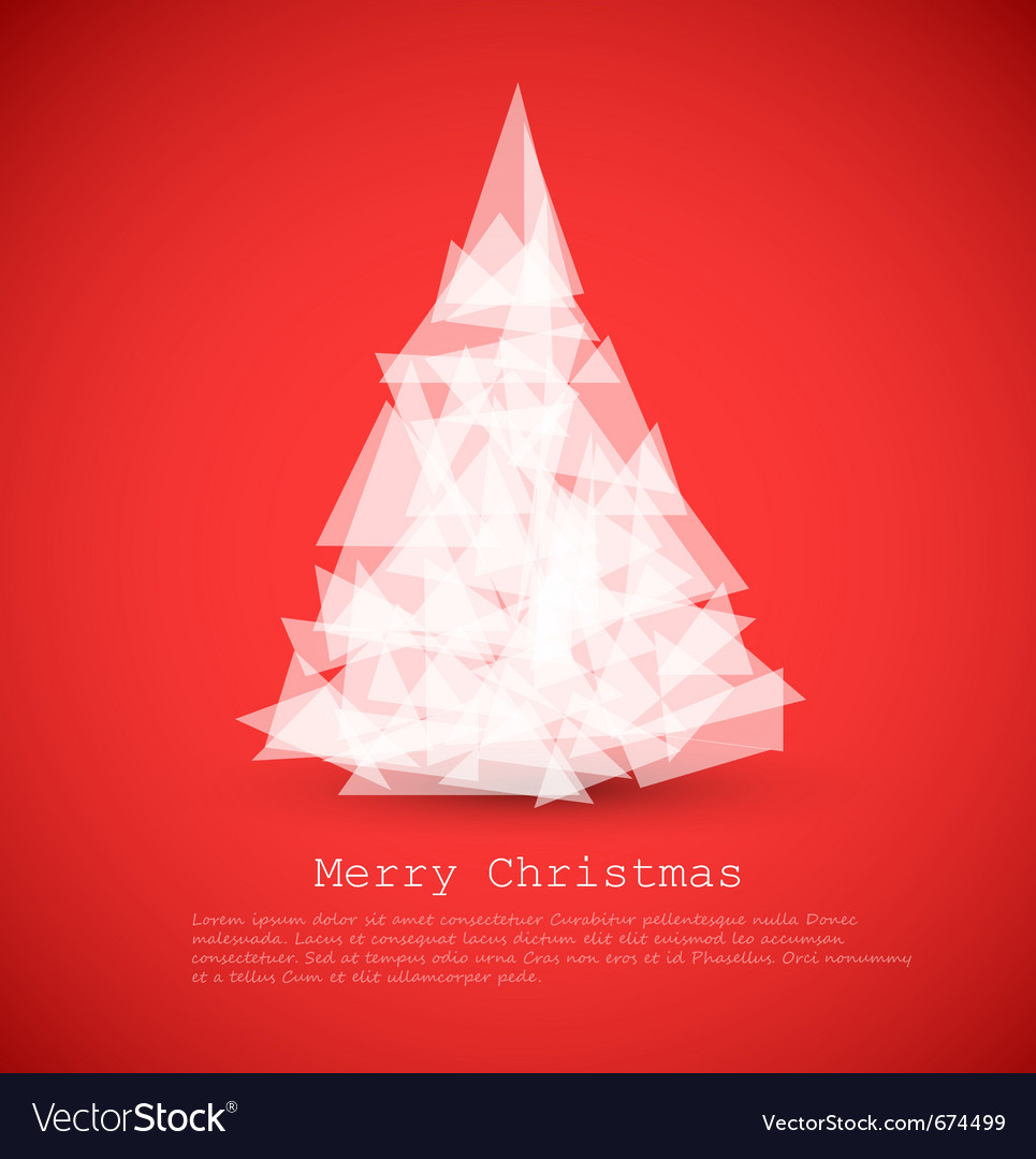 Modern xmas card vector | Price: 1 Credit (USD $1)