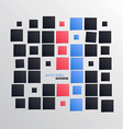 Square background 2 vector