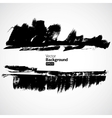 Grunge black background vector