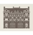 Baroque house vector