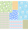 Patchwork background vector