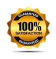 100 satisfaction guaranteed label vector