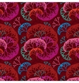 Retro seamless colorful pattern background with vector
