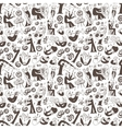 Musicians - seamless background vector
