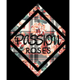 Roses passion vector