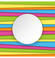 Colorful striped background with place for text vector