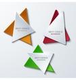 Moder banners element design vector