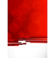 Abstract background in red color vector