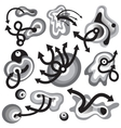 Time symbols vector