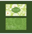 Green and golden garden silhouettes horizontal vector