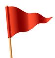 Triangular flag vector