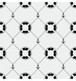 Anchor and lifebuoy pattern vector