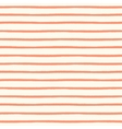 Seamless striped pattern with hand painted brush vector