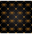 Black and gold pattern vector