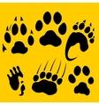 Footprints set - vinyl-ready vector