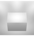 3d isolated empty podium vector