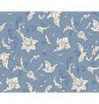 Damascus pattern seamless vintage background vector