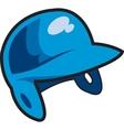 Batters helmet vector