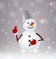 Snowmen like vector