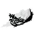 Motorcross vector