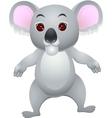 Koala cartoon vector