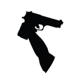Guns in the hand vector
