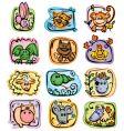 Horoscope characters vector
