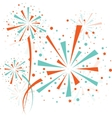 Firework color vector