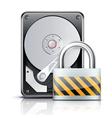 Security concept vector