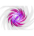 Rounded vortex vector