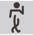 Heel and toe walk vector