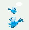 Bird flying vector