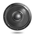 Sound speaker isolated vector