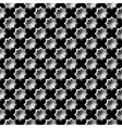 Design seamless monochrome star pattern vector
