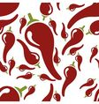 Chilli seamless pattern vector