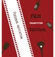 Film festival banner vector