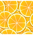 Orange segments seamless background vector