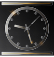 Glass clock vector
