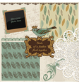 Design elements - vintage bird feathers vector