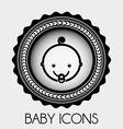 Baby design vector