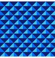 Seamless dark blue geometric pattern vector