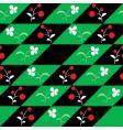 Flowers seamless pattern vector