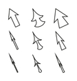 Original mouse cursors icons arrows vector