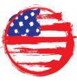 America circle flag vector