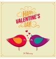 Saint valentine day background vector